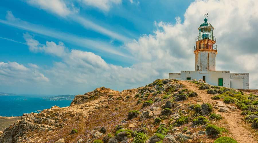 Imagen del Faro de Armenistis
